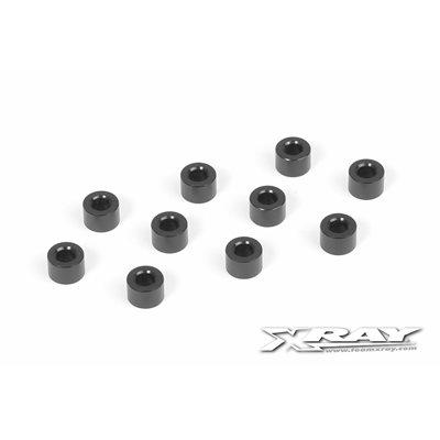 ALU SHIM 3x6x4.0MM - BLACK (10)