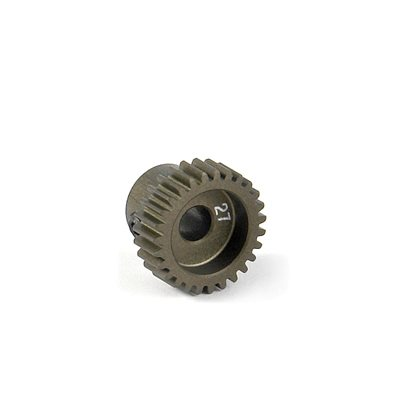 NARROW PINION GEAR ALU HARD COATED 27T / 64