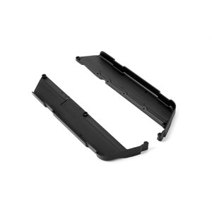 XB9E CHASSIS SIDE GUARDS L+R