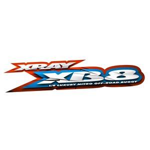 XRAY XB8'21 - 1 / 8 NITRO BUGGY + FX ENGINE COMBO