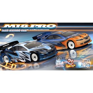 XRAY M18 PRO LiPo - 4WD SHAFT DRIVE 1 / 18 MICRO CAR